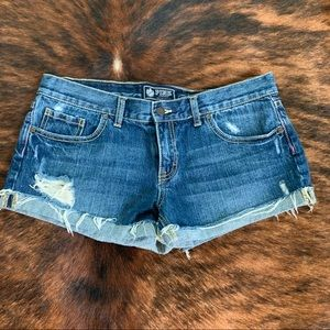 VS Pink Jean Shorts